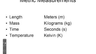 Physical Science Section 1.2 Measurement