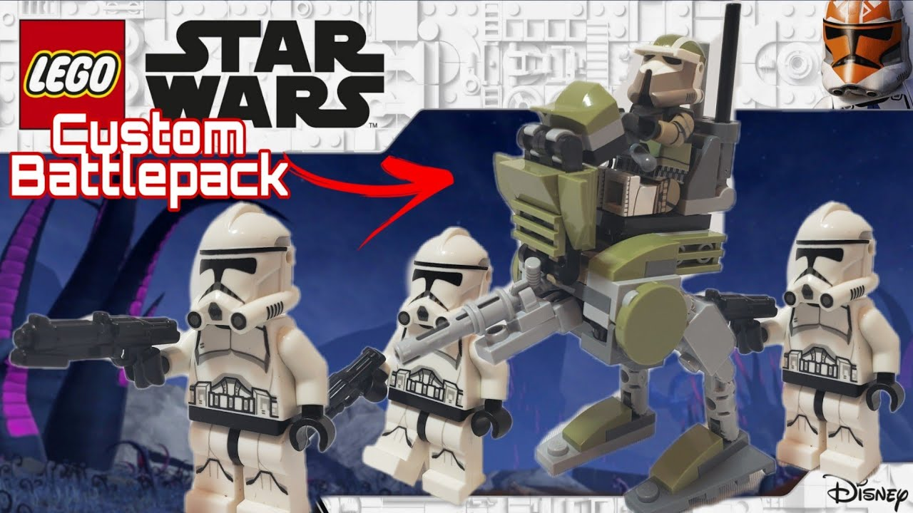 The Custom Phase 2 Clone Trooper Battle Pack We Always Wanted!?