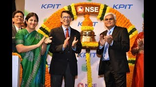 KPIT Technologies gets listed on BSE and NSE