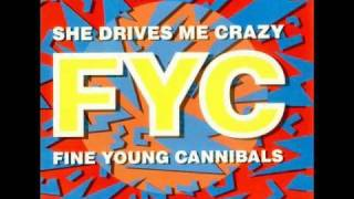 "FINE YOUNG CANNIBALS - SHE DRIVES ME CRAZY + THE 12"" VERSION"