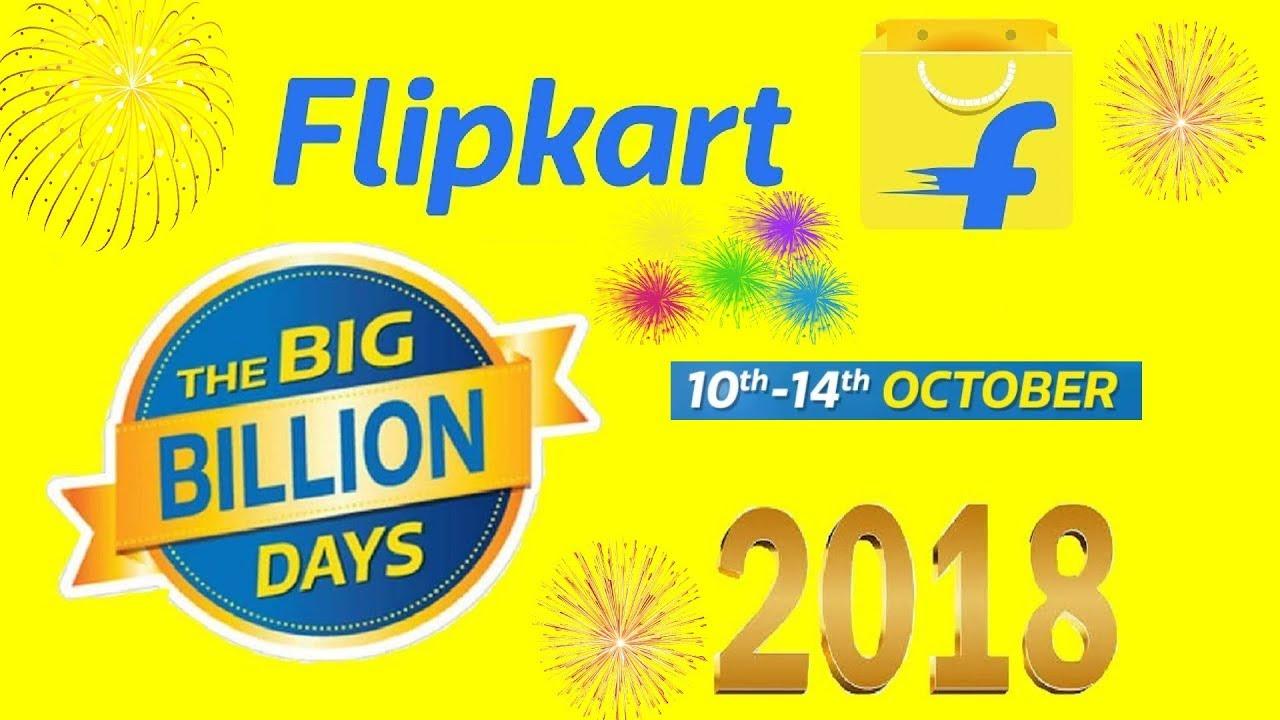 51a8f834edb Flipkart big billion day 2018 10th - 14th OCTOBER