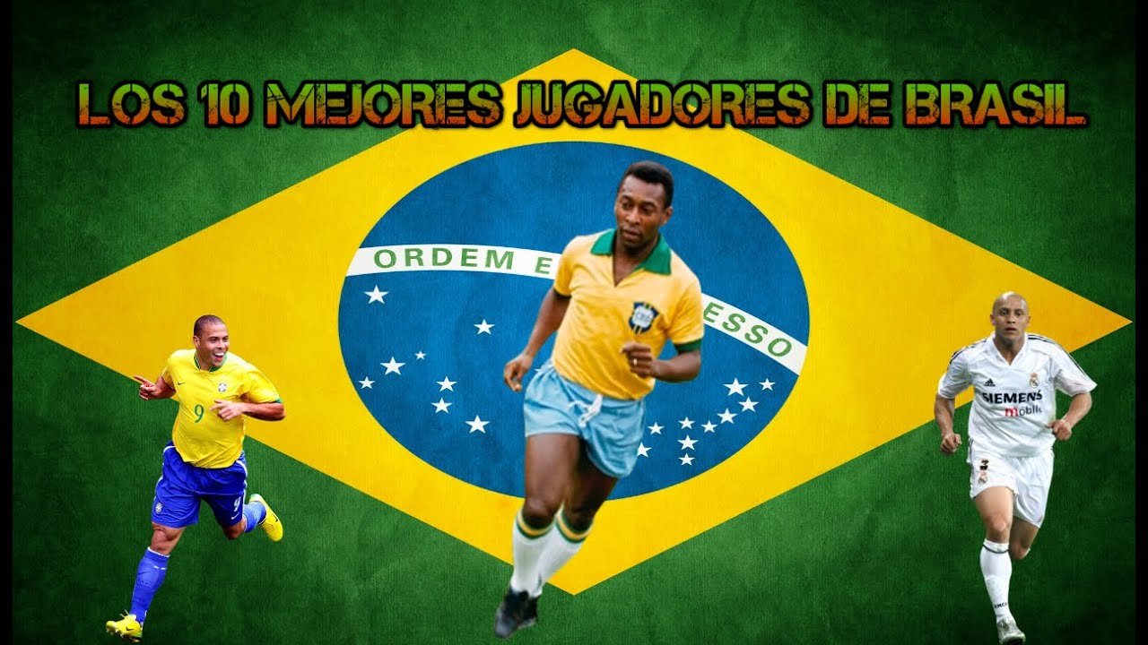 Los 10 mejores jugadores de la historia de Brasil!!! - YouTube