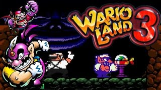 WARIO LAND 3 (Game Boy Color) - GBC4J-v-0.87-M1: GameBoy Color Emulator [JAVA]