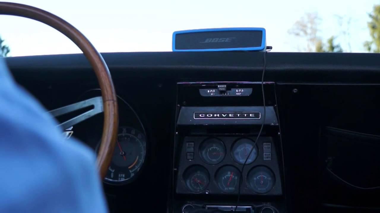 bose soundlink mini test in a 69 corvette stingray youtube. Black Bedroom Furniture Sets. Home Design Ideas
