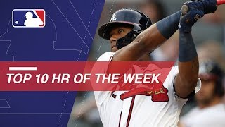 Top 10 Home Runs of the Week: 8/17/18