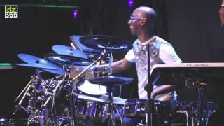 Omar Hakim - Roland TD-50K V-Drums demo Live at NAMM 2017