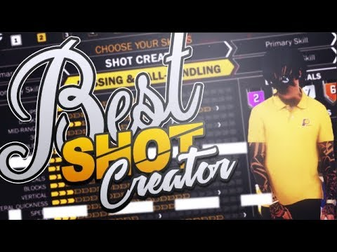 NBA 2K18 Tips: BEST SHOT CREATOR BUILD - 99 OVERALL OVERPOWERED SHOT CREATOR TUTORIAL