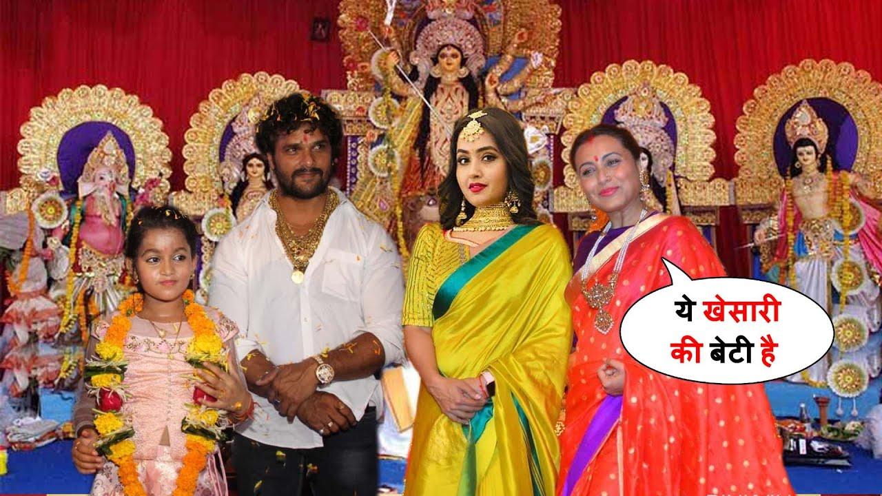 वायरल हुआ - देखिये खेसारी लाल काजल राघवानी और Rani mukherjee एक साथ दुर्गा पूजा मनाये मुंबई में !