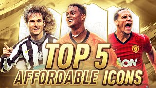 Top 5 Best Affordable Icons In Fifa 19 Ultimate Team