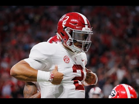 Jalen Hurts Has Comeback Story Of The Year In SEC Title Game