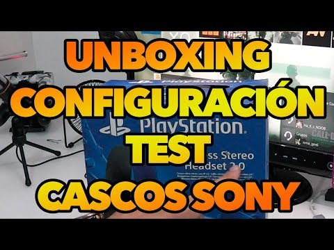 Unboxing, Configuración y Test de los Auriculares Wireless Estereo de Sony - PS4, PS3 y PSVita