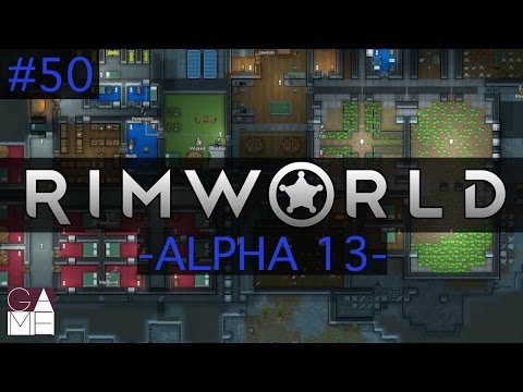 RimWorld Let's Play - Alpha 13 // Episode 50 [Massive gunfight...with ROCKETS!!]
