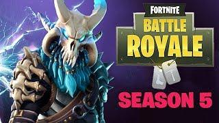 Testing the Waters in Season 5?! - Fortnite Battle Royale Gameplay - Season 5 - Xbox One X