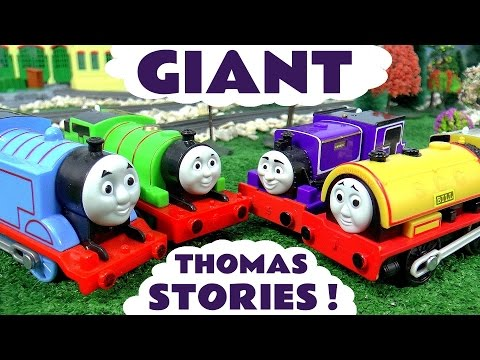 Thomas & Friends Toys Stories Pranks Racing Accidents and Rescues | Disney Cars and Avengers