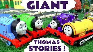 Thomas and Friends Toys Stories Pranks Racing Accidents and Rescues | Disney Cars and Avengers