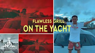 Flawless Grill on the Yacht with Kkvsh