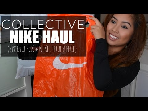collective-nike-haul-(sportchek-+-nike,-tech-fleece)