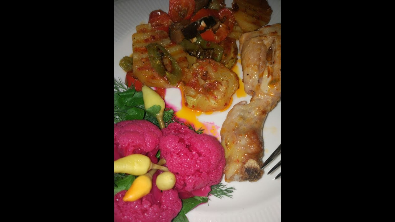Fırında sebzeli tavuk tarifi / çok kolay tarifler