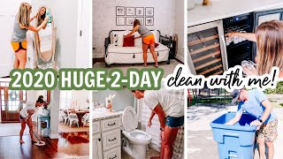 2020 HUGE 2-DAY CLEAN WITH ME | EXTREME CLEANING MOTIVATION | Amy Darley