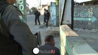 Mais uma vez Policias do 27ºBPM são recebidos a tiros em operação na Zona Oeste do Rio