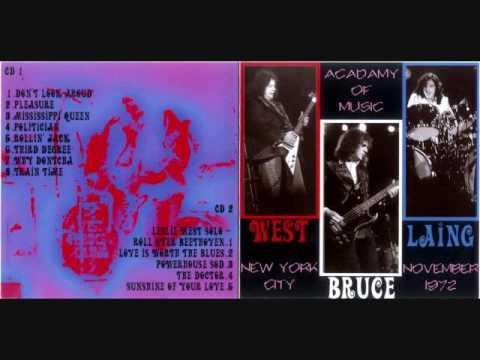 West Bruce Laing- Radio City Music Hall, NY 11/6/72