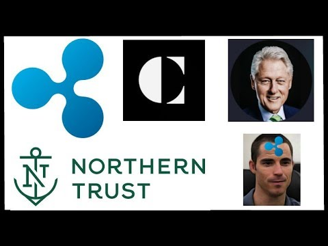 Coinsquare Lists XRP! - Roger Ver Owns Up to XRP FUD - Bill Clinton Swell - Northern Trust Crypto