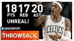 Throwback: Rajon Rondo Triple-Double Highlights vs Knicks (2012.03.04) - 18 Pts, 20 Ast, 17 Reb!