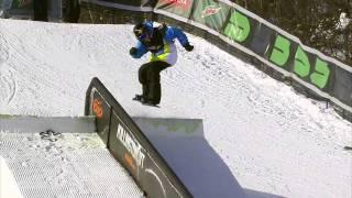 Winter Dew Tour - Torstein Horgmo - Winning Run, Snowboard Slopestyle - Killington 2011
