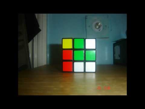 Rubik Cube Uber Solve [Stop Motion] in HD