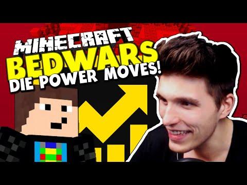 DIE POWER MOVES! & NEUE MAP STRONGHOLD ✪ Minecraft Bedwars Woche Tag 153 mit GommeHD