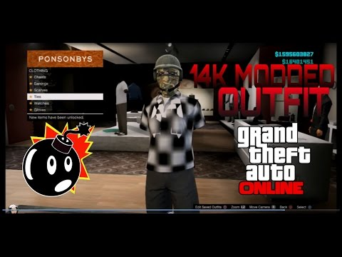 SICK MODDED OUTFIT GLITCH 5 3K GTA 5 ONLINE 1 27 | FunnyCat TV