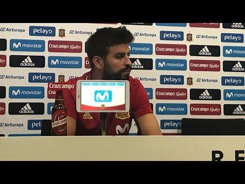 Sigue en directo la rueda de prensa de Piqué