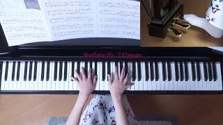 使用楽譜;月刊ピアノ2017年11月号、 難易度・上級(採譜者;安蒜佐和子...