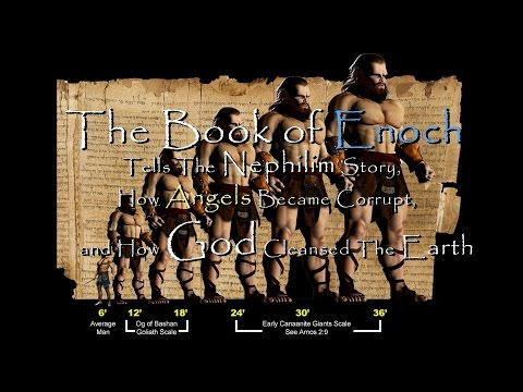 The Book of Enoch Tells The Nephilim Story, How Angels Became Corrupt, & How God Cleansed Earth