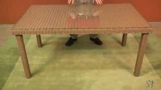 Assembly Video For Maya All Weather Wicker Patio Dining Table