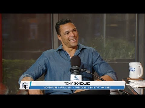 "Tony Gonzalez of CNBC's ""Adventure Capitalists"" Joins The Rich Eisen Show In-Studio 