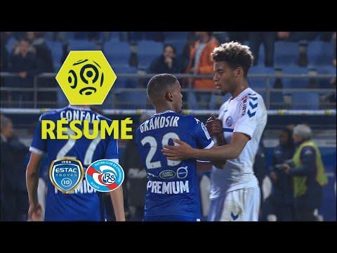 ESTAC Troyes - RC Strasbourg Alsace (3-0)  - Résumé - (ESTAC - RCSA) / 2017-18
