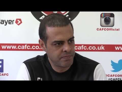 PRESS DAY: Guy Luzon pre-Cardiff City press conference