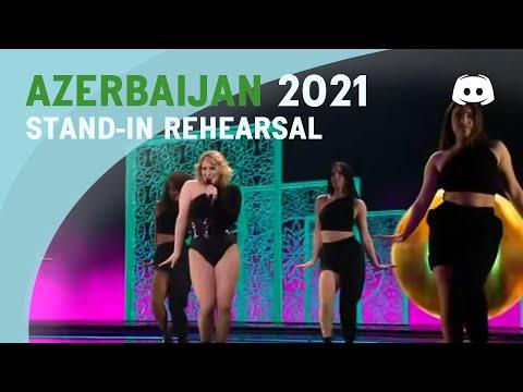 Stand-In Rehearsal - Eurovision 2021 - Azerbaijan - Efendi - Mata Hari