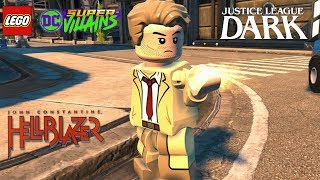 LEGO DC Super Villains John Constantine Free Roam Gameplay (Justice League Dark)