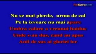 VALERIU STERIAN-Amintire cu haiduci