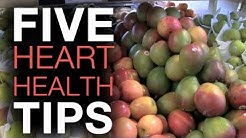 Top 5 Heart Health Tips