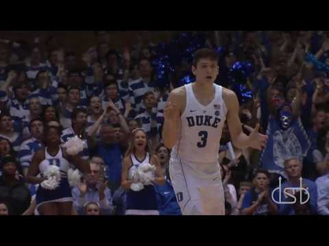 Duke v UNC 3/3/18 Highlights