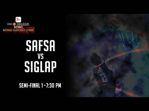 SAFSA vs Siglap Basketball Club | ICBC National Basketball League Division I 2018