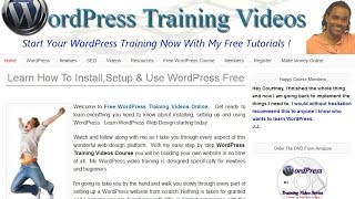 WordPress Training-Change Background Color Header Use Gimp Instant Eyedropper Get Free Images