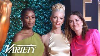 Anya Taylor-Joy & 'The Queen's Gambit' Backstage Speech - 2021 Emmy Awards
