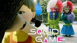 Drama Ondel-ondel Main SQUID GAME Bikin Heboh Seru Lucu Banget 🤣🤣🤣