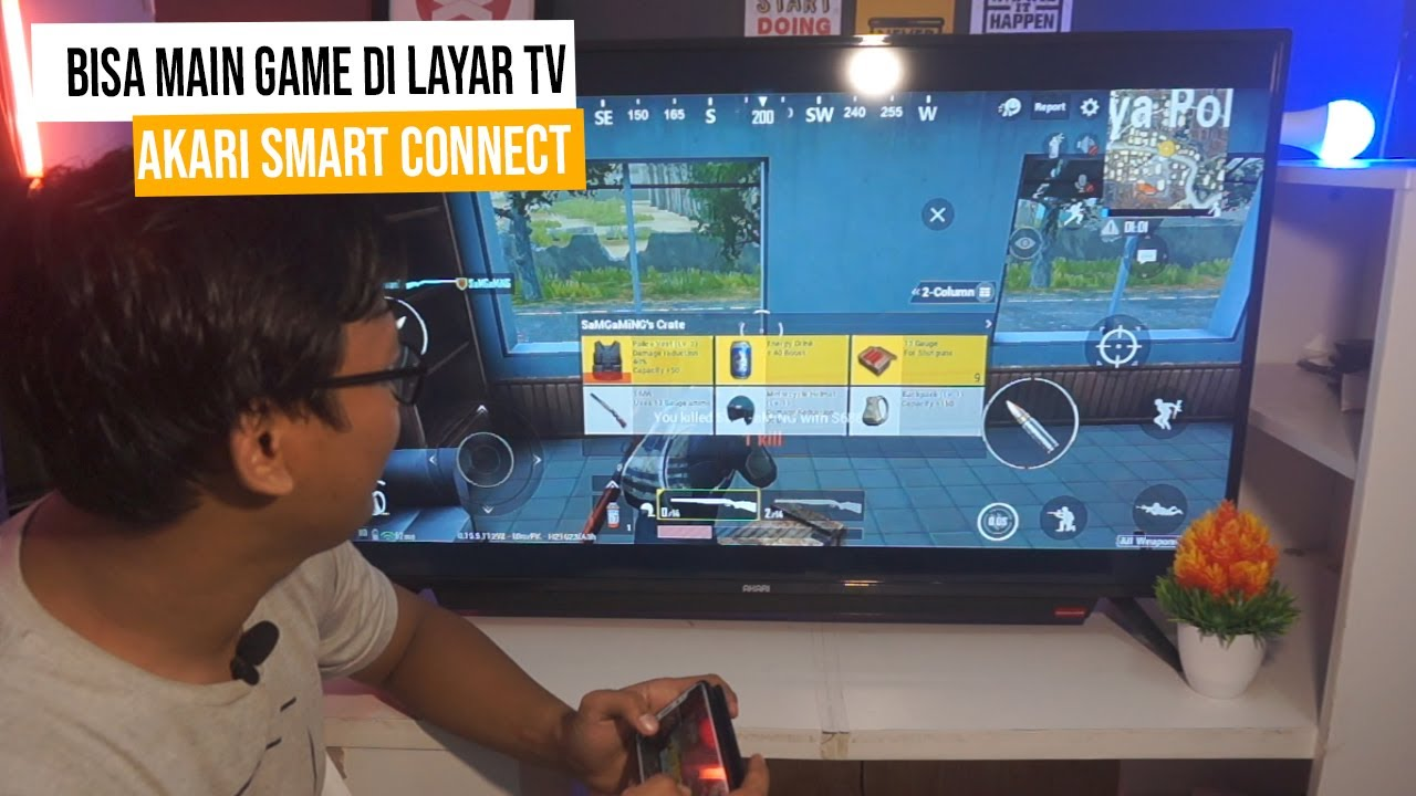 Akari Smartconnect Led Tv Terobosan Baru Dari Brand Lokal Unboxing Review Youtube