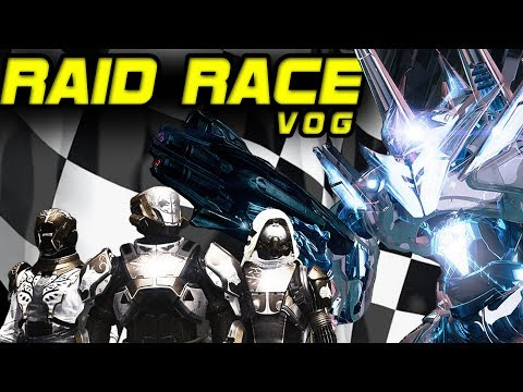 RAID RACE!! Vault Of Glass (VOG) Raid Race In Destiny!!