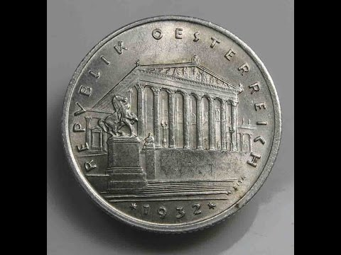 Austria 1 Schilling 1932 Silver Coin
